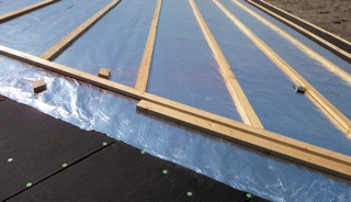 Foil Installed Before Installing Standing Seam Metal Roof