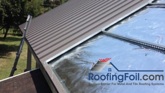 RoofingFoil.com – for Roofing Applications with an Air Gap