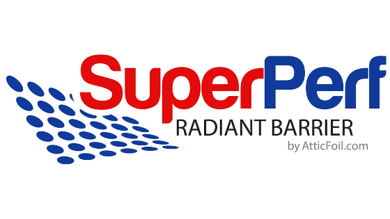 Introducing an exclusive new radiant barrier: SuperPerf™ AtticFoil®